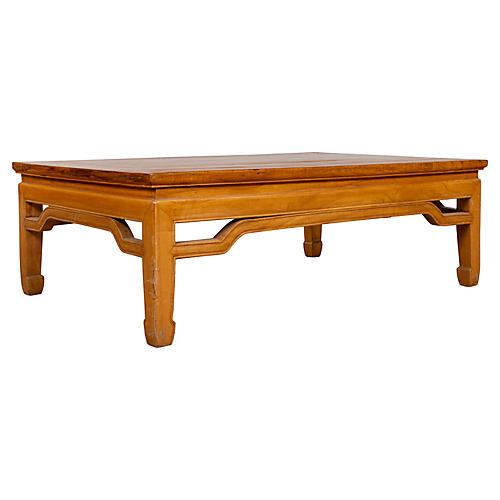 Chinese Ming Dynasty Style Coffee Table