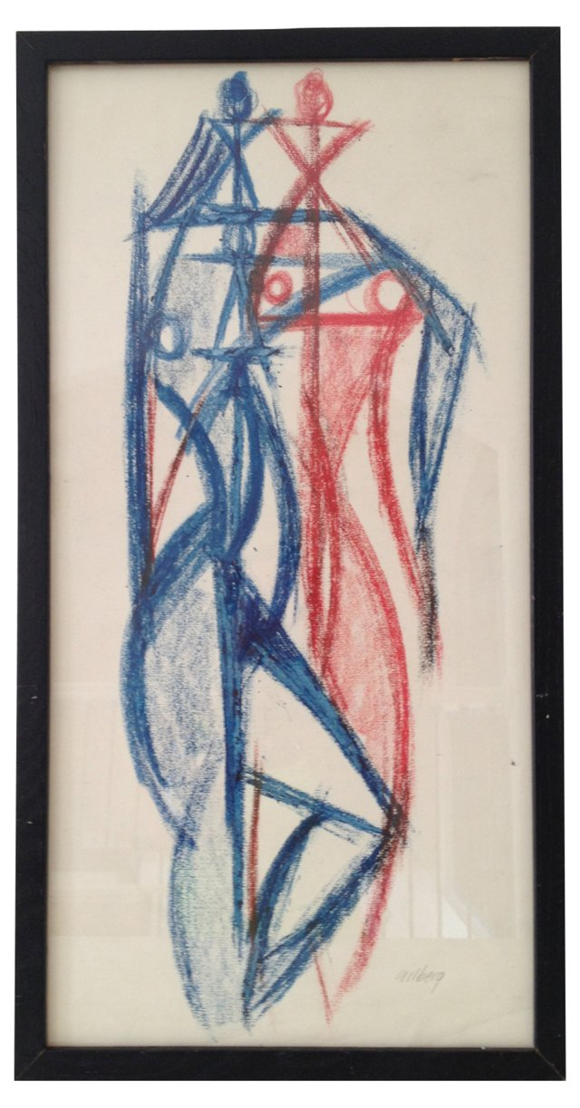 Abstract Figures by Robert Gilberg