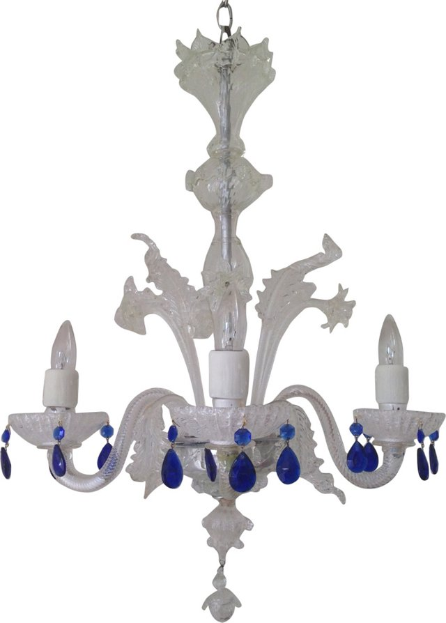 Venetian Murano Glass Chandelier