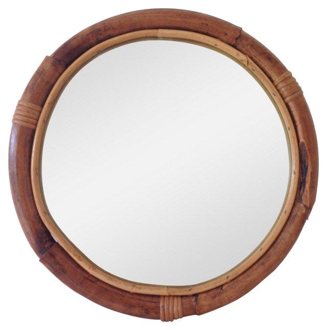 Italian Bamboo Mirror