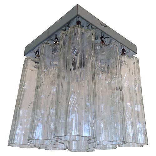 Tronchi Glass Ceiling Light