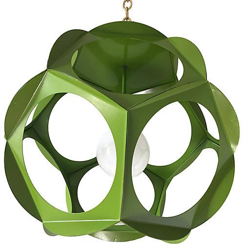 Geometric Iron Pendant Light