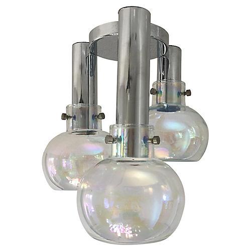 Blown Glass Ceiling Light