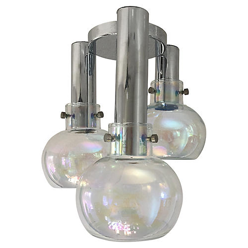Blown Glass Ceiling Light