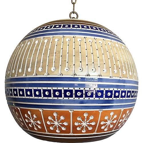 Art Pottery Pendant Light
