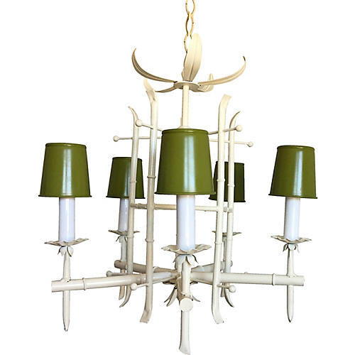 Chinese Chippendale Chandelier