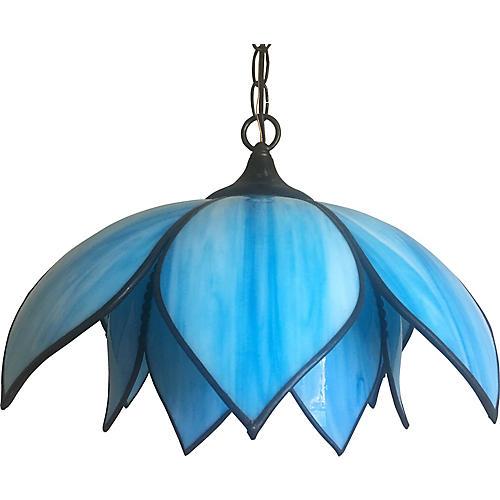 Midcentury Lotus Pendant Light