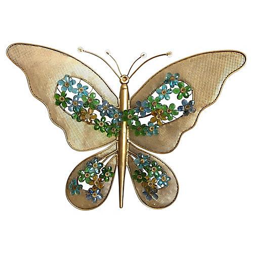 Oversize Italian Butterfly Wall Light