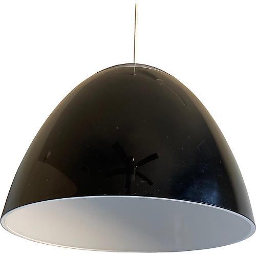 Italian Lucite Pendant Light
