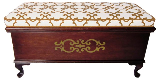 Wooden Upholstered Hope Chest