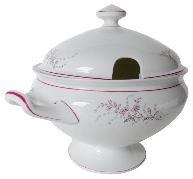 Porcelain Lidded Soup Tureen