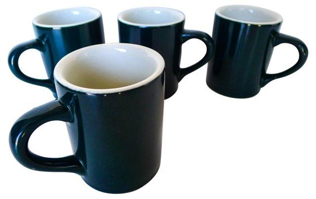 Coffee Mugs, Set of 4