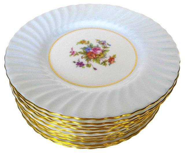 Minton Luncheonette  Plates, S/12