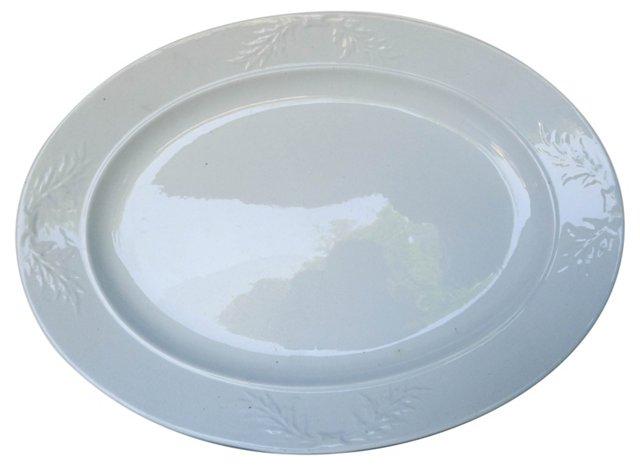 Antique Ironstone Platter