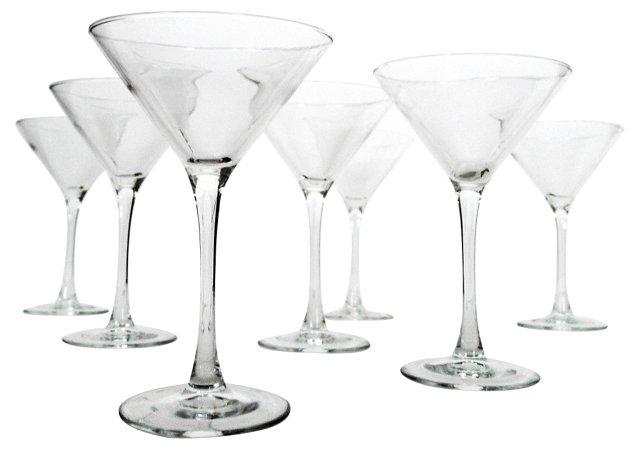 Martini Glasses, S/7