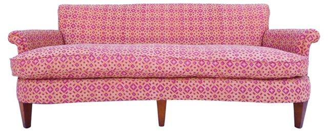 Midcentury Sofa w/ Robshaw Upholstery