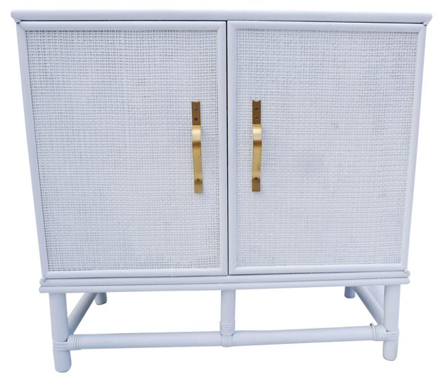 Ficks Reed Faux-Bamboo Cabinet