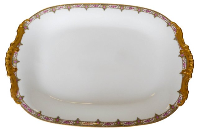 French Porcelain Platter