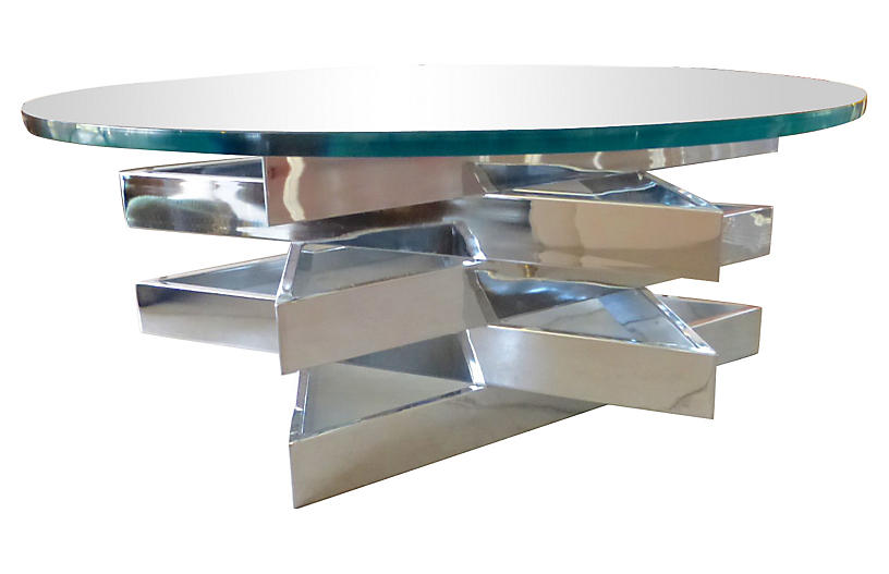3 level chrome star coffee table coffee tables living for 3 level coffee table