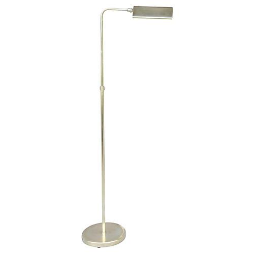 Adjustable Brass Floor Lamp
