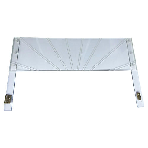 King Lucite Headboard