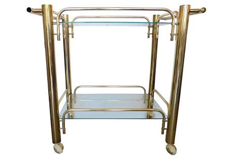 Midcentury Serving & Bar Cart