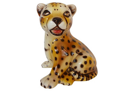 Capodimonte Baby Leopard