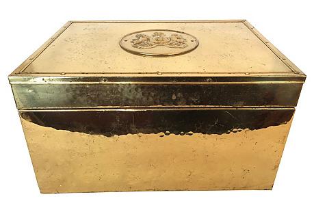 English Brass Box