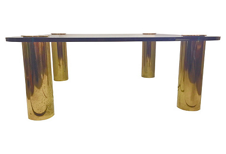 Pace Collection Square Coffee Table