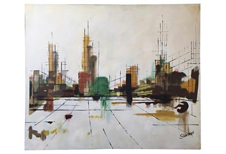 Cityscape by S. Warren