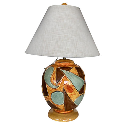 Mantell Table Lamp