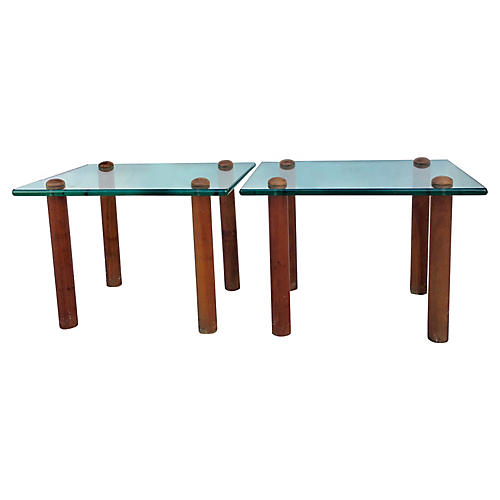 Gilbert Rohde Side Tables, S/2