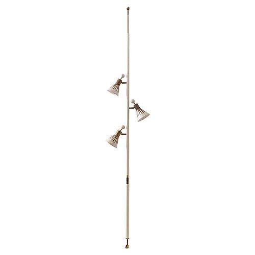 Tension Pole Floor Lamp by Stiffel