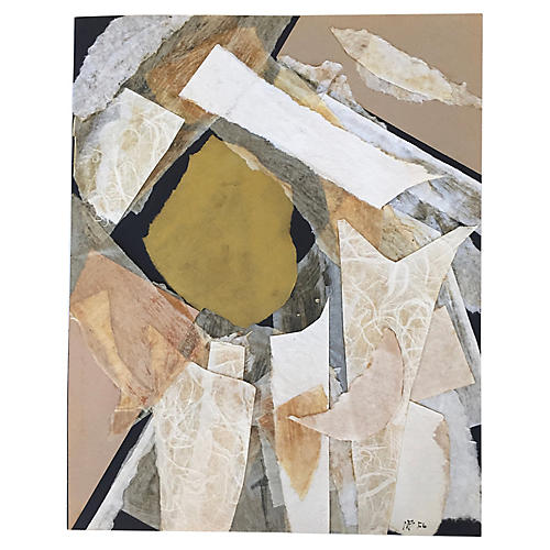 White Collage by M. Bevington