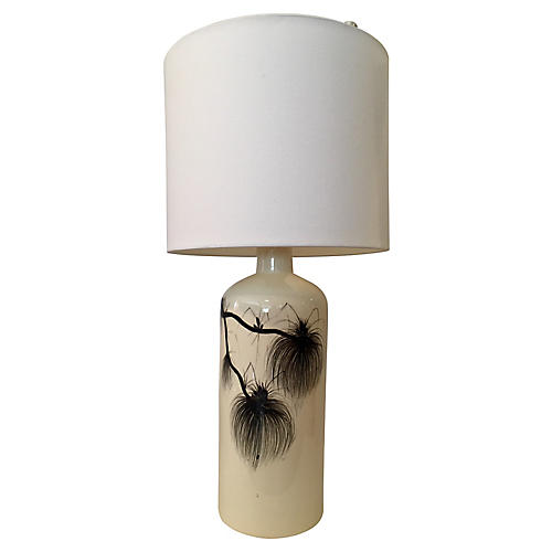 Hand-Painted Lamp