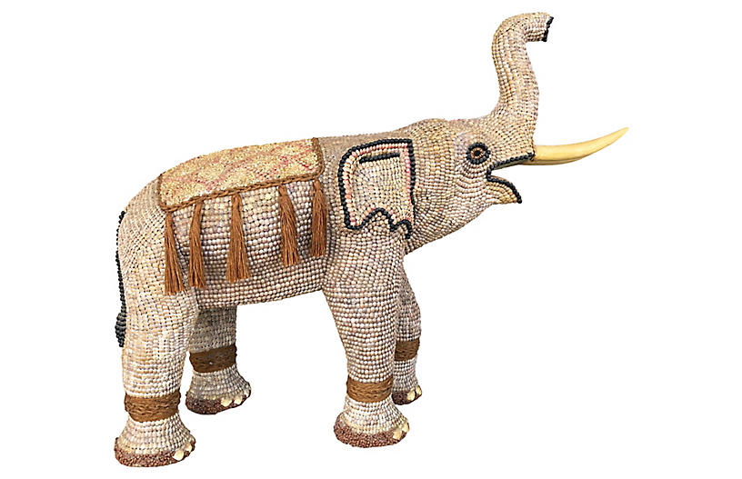 Large Shell-Covered Elephant by Scandia