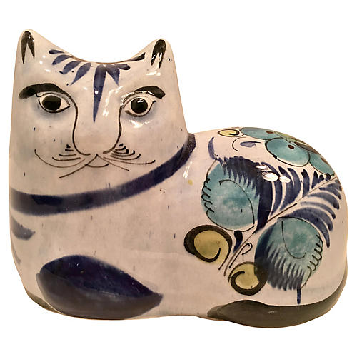 Mexican Ceramic Cat