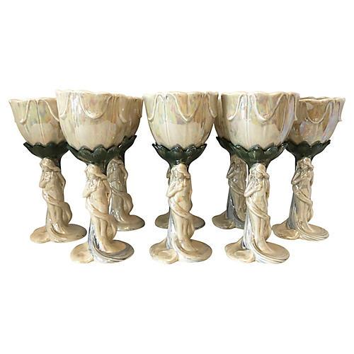Art Nouveau Style Glasses/8
