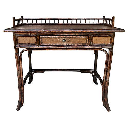 Tortoise Bamboo Desk