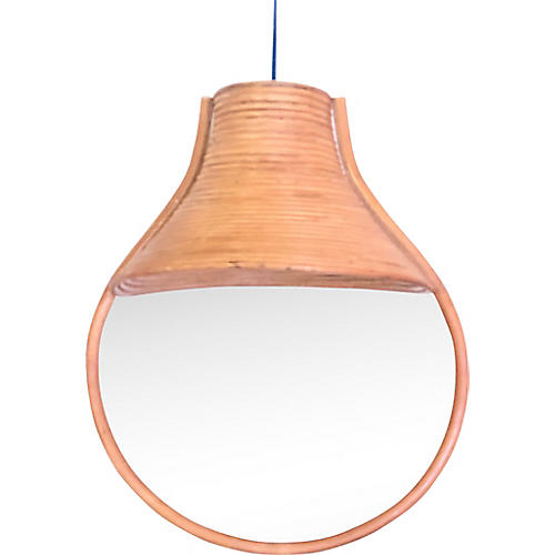 Pencil Reed Adjustable Pendant Light