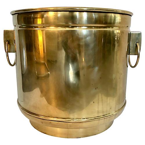 Solid Brass Planter