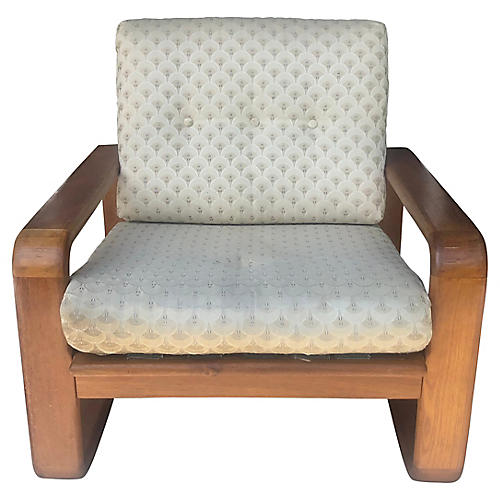 Danish Wood Armchair