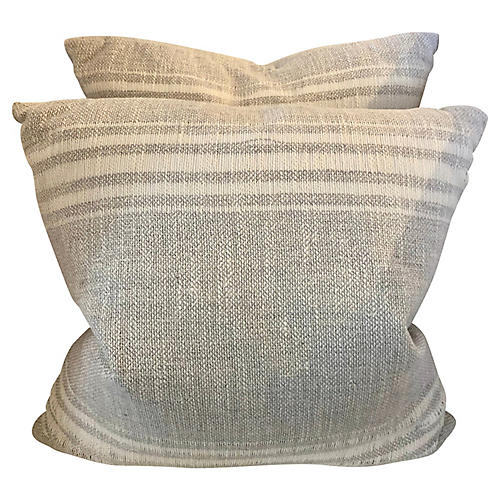 """Pair """"Firenze"""" Pillows By V Rugs & Home"""