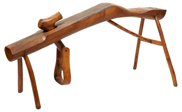 Shingle-Making Bench