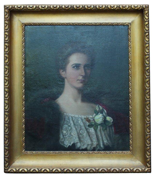 Portrait of Woman by R. St. John Ainsle