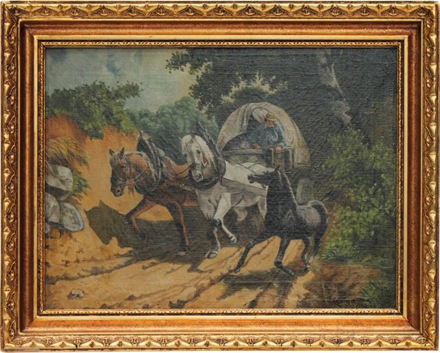Country Riding by Louis van de Wouwer