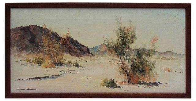 Desert Landscape by R. Wagoner