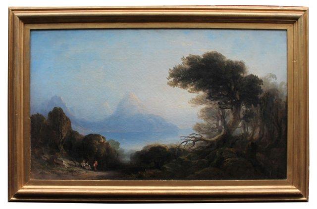 Lakescape by Thomas Gray Hart