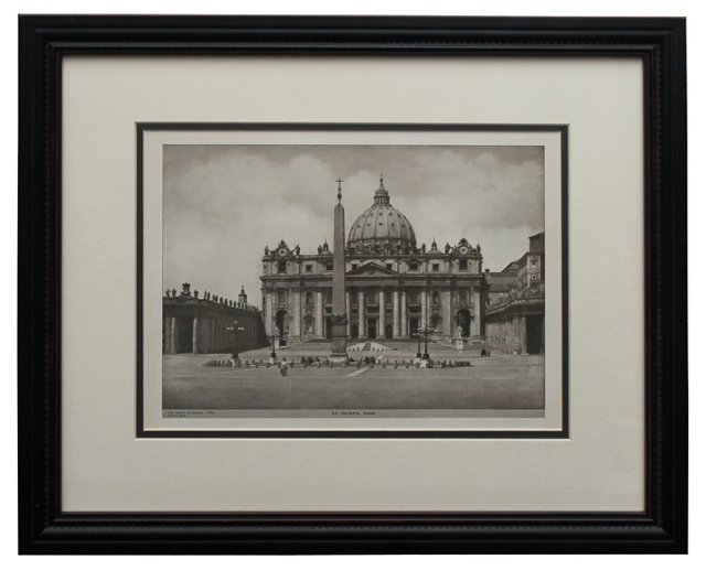 St. Peter's Square by A. Perry