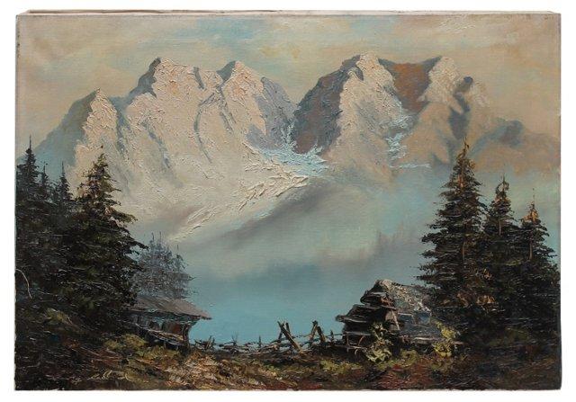 Morning Fog by C. Ledland
